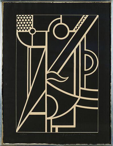Roy Lichtenstein, 'Modern Head #3 (from Modern Head Series)', 1970
