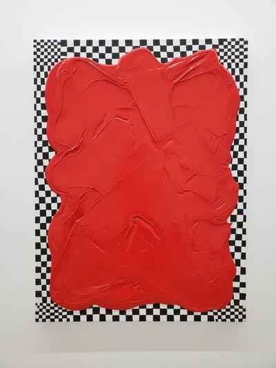 Robert Standish, 'Black, White, Red ( Anti-Sporadic #25)', 2019-2020