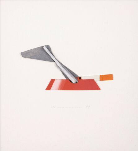 Tom Wesselmann, 'Smoking Cigarette in Ashtray'