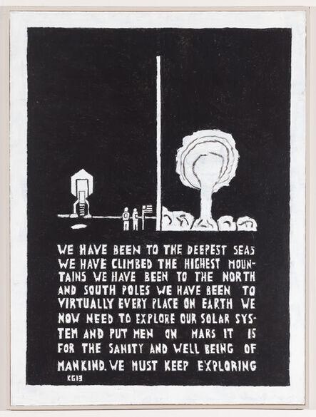 Ken Grimes, 'Untitled (The Deepest Seas)', 2013