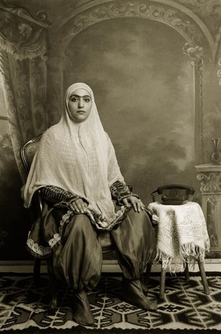 Shadi Ghadirian, 'Qajar #22', 1998