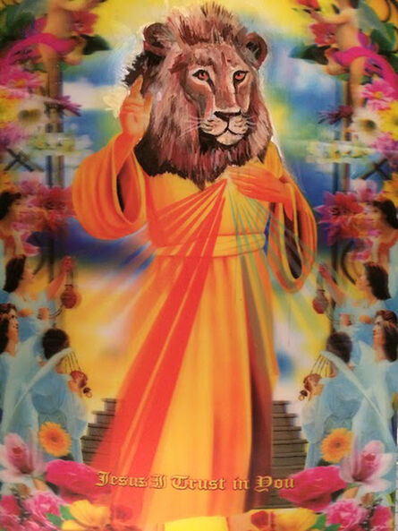 catherine jones, 'Cecil The Lion: Savior To The Endangered Species', 2015
