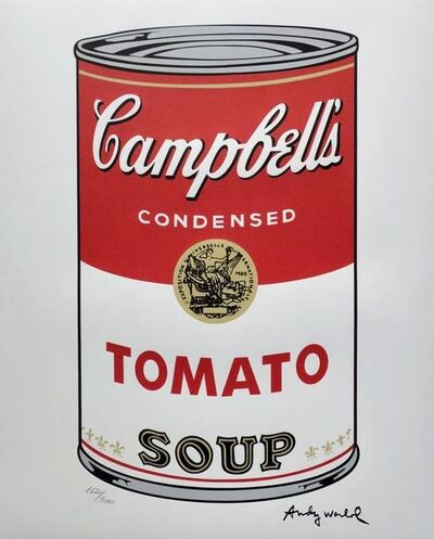 Andy Warhol, 'Campbells Tomato Soup', ca. 1969