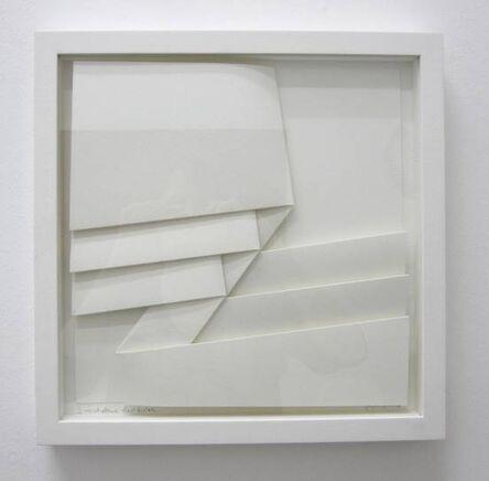 Peter Weber, '3 verschobene rechtecke', 2016
