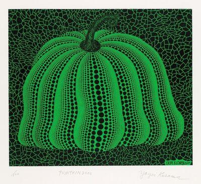 Yayoi Kusama, 'Pumpkin 2000 (Green)', 2000