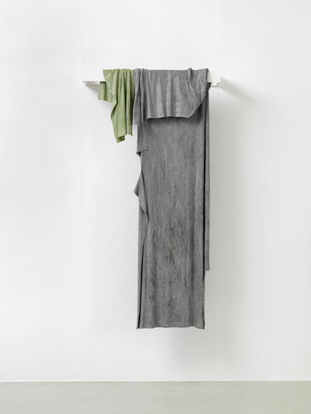 Tilo Schulz, 'two rags (hanging)', 2016