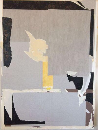 Erik de Bree, 'Wallpaper painting #29', 2016