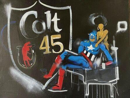 Hebru Brantley, 'Colt 45', 2011-2012