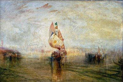 J. M. W. Turner, 'The Sun of Venice Going to Sea', 1843