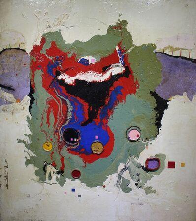 Heung-soo Kim, 'Landscape', 1973