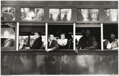 Robert Frank, ''New Orleans' (Trolley)'