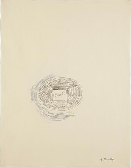 Cy Twombly, 'Reflection', 1965