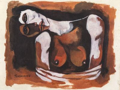 Oswaldo Guayasamín, 'Mujer ', ca. 1980