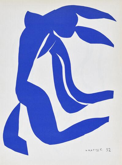 Henri Matisse, 'Nu Bleu, from Verve, Vol. IX, 35/36', 1952