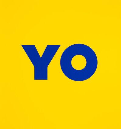 Deborah Kass, 'YO', 2020