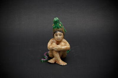 Kensuke Fujiyoshi, '8. The dragon boy (holding his knees)', 2012