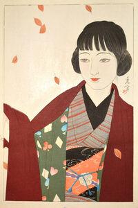 Yamakawa Shuho, 'Autumn', 1927