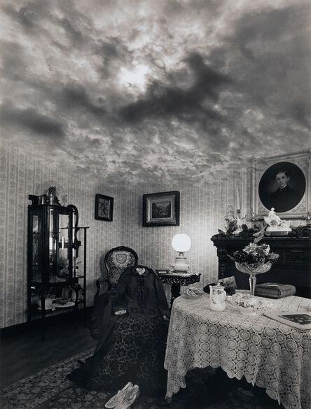 Jerry Uelsmann, 'Victorian Cloud Room', 1975