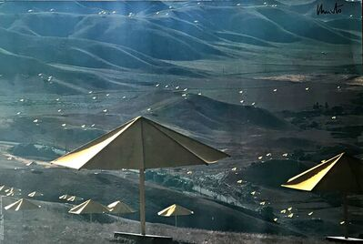 Christo and Jeanne-Claude, 'The Umbrellas, Japan - USA (Hand Signed) ', 1991