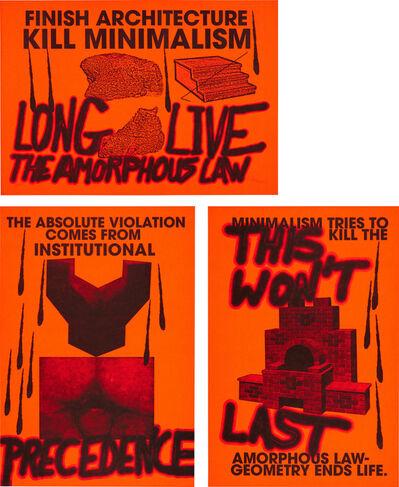 Sterling Ruby, 'Anti-Print Poster', 2007