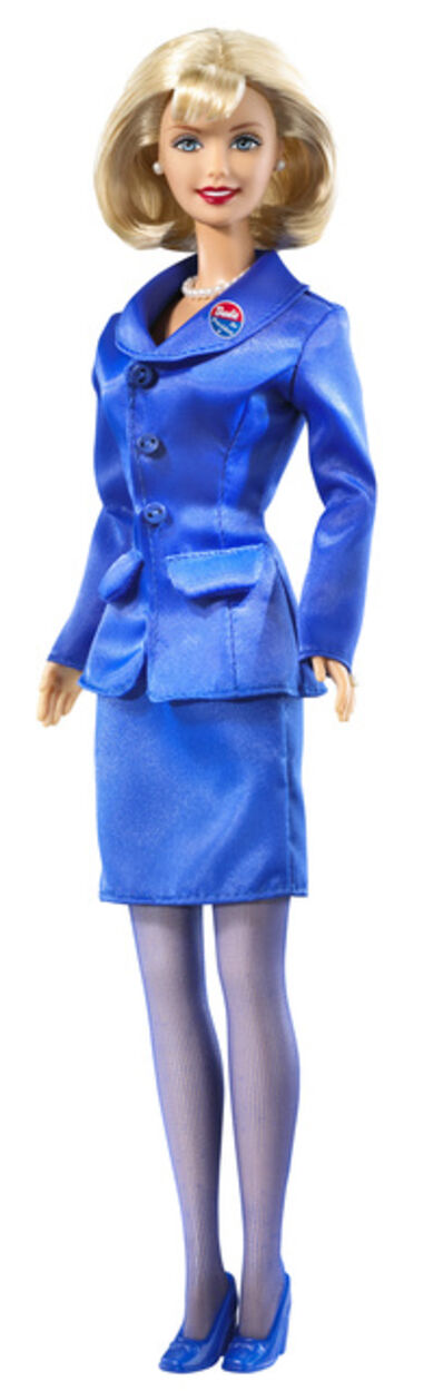 Mattel, 'Presidential Candidate Barbie', 2000