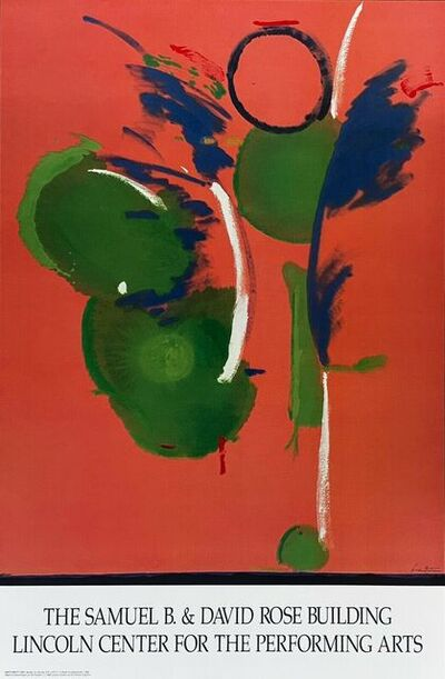 Helen Frankenthaler, 'Mary Mary 1991, Lincoln Center Honorary Lithograph', 1991