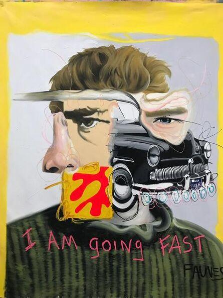 John Paul Fauves, 'I'AM GOING FAST', 2019