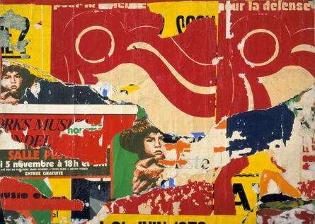 Jacques Villeglé, 'Rue Simon Le Franc', 31 octobre 1974