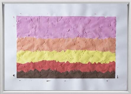 Rodrigo González Castellanos, 'Desgaste de la psicología del color, Dulce', 2020