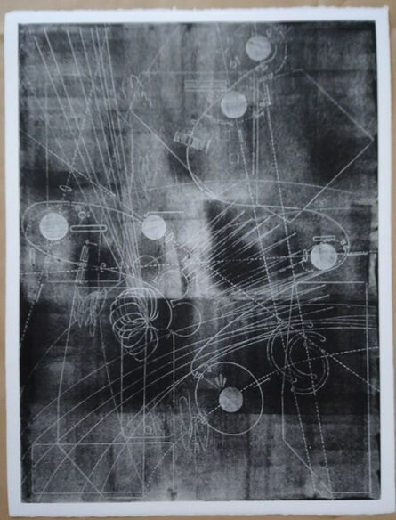 """Andreas Werner, '""""Raumroute 20""""', 2020"""