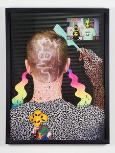 Isaac Tin Wei Lin, 'Alien Joke Words Portrait of Andrew Jeffrey Wright', 2012
