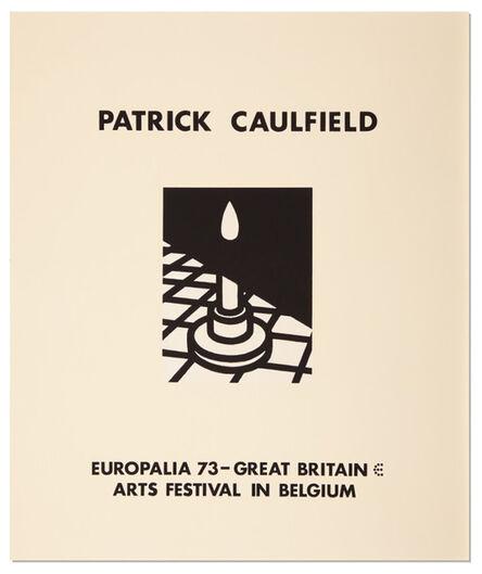 Patrick Caulfield, 'Europalia 1973 (Candle) ', 1973