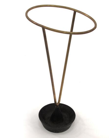 Carl Auböck, 'Iron and Brass Umbrella Stand', ca. 1950