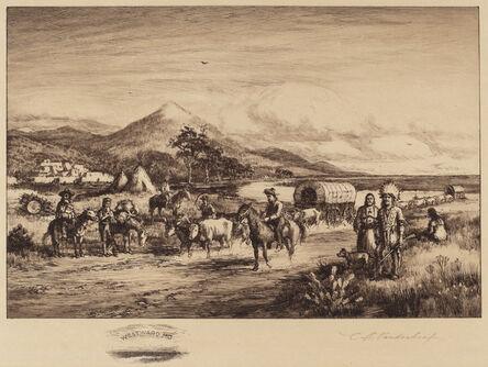 Charles A. Vanderhoof, 'Westward Ho', ca. 1880s