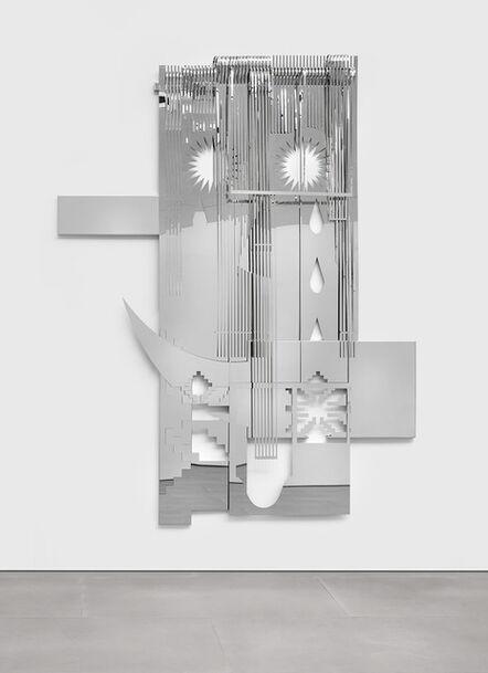 Tarik Kiswanson, '... of ..., at...h, at..., in..., Stars fall heavy heavily heavenly (the weavers' machines)', 2016