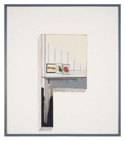 Ger van Elk, 'Study for Cross I', 1988
