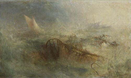 J. M. W. Turner, 'The Storm', 1840-1845
