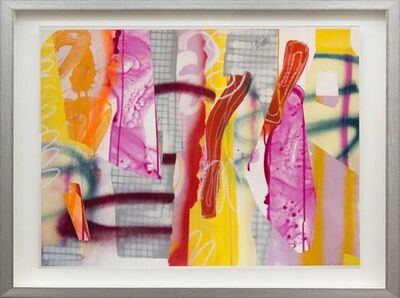 Fiona Ackerman, 'Composition No 23 - Bright hues of yellow, orange, magenta and red', 2015