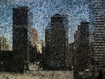 Abelardo Morell, 'Rooftop View of Midtown Manhattan Looking East', 2010