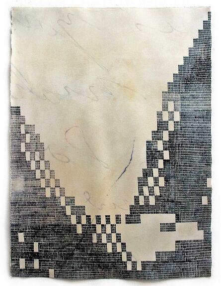 Michael Hall, 'Dot-Matrix Eagle (91990 bday card) (from Correspondence series)', 2016