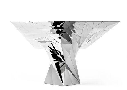 Zhoujie Zhang, 'Tornado (SQN7-T) Stainless Steel Table', 2011