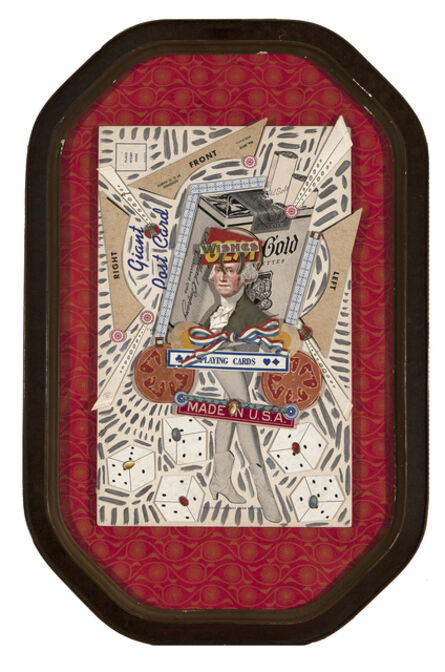 Margaret Rizzio, 'Giant Postcard'