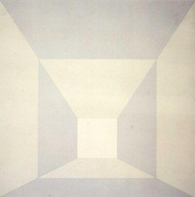 Josef Albers, 'Mitered Squares, Plus II', 1976