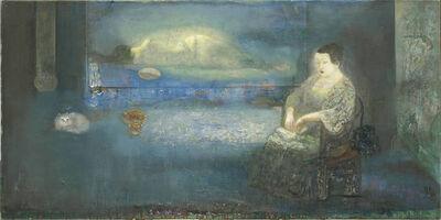 Leng Hong 冷宏, 'Behind the Blue 蠟照半籠全翡翠', 2015