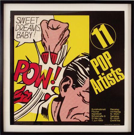 Roy Lichtenstein, 'Sweet Dreams Baby!, 11 Pop Artists', 1969