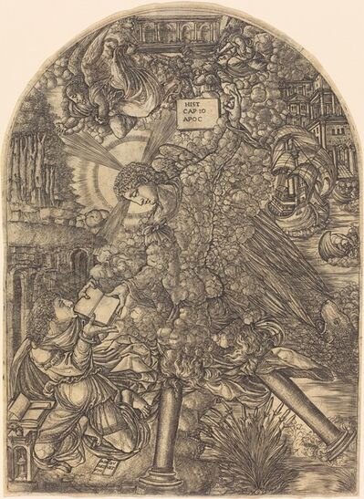 Jean Duvet, 'The Angel Gives Saint John the Book to Eat', 1552/1556