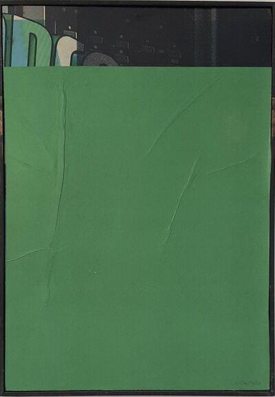 Mimmo Rotella, 'ST', 1980