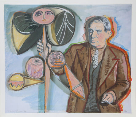 Larry Rivers, 'Homage to Picasso', 1994