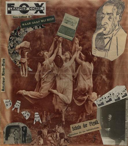 Erwin Blumenfeld, 'Dada Dancers (Schule der Physik)', 1924