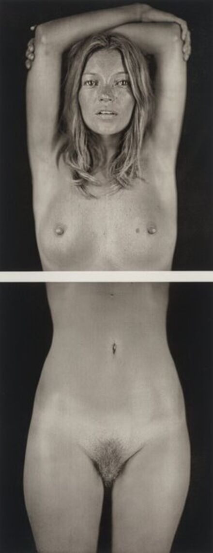 Chuck Close, 'Kate Moss (diptych)', 2008